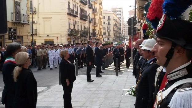 commemorazione, generale, Palermo, Sicilia, Cronaca