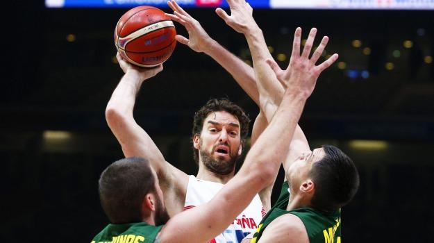 basket, europei, finale, spagna-lituania, Pau Gasol, Sergio Scariolo, Sicilia, Sport