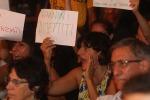 La Giannini alla festa dell'Unità, ma gli insegnati la contestano - Foto