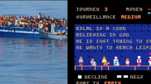 gioco, profughi, scafisti, videogame, Sicilia, Mondo