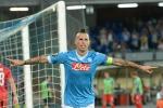 Europa League, Napoli show Beffa per Lazio e Fiorentina