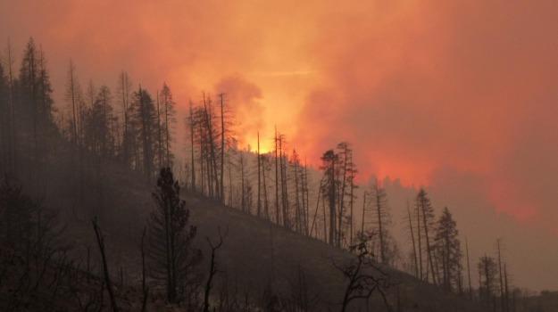 California, evacuazione, incendi, San Andreas, Sicilia, Mondo