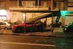Martin Caceres si schianta con la sua Ferrari, patente ritirata