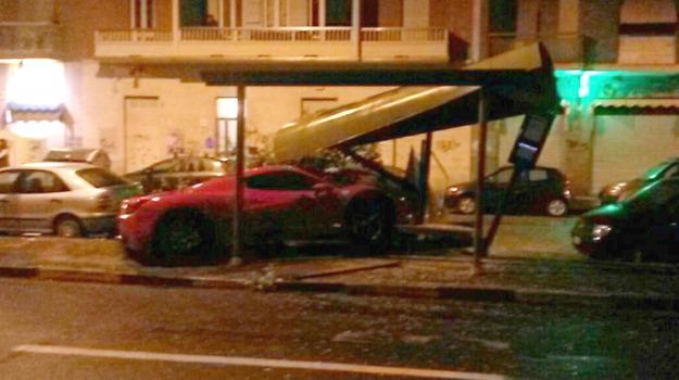 Ferrari, incidente, Juventus, patente ritirata, Sicilia, Sport