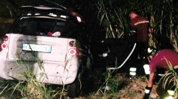 incidente smart, menfi, Agrigento, Cronaca