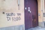 Sede della Lega a Palermo imbrattata, facciata ripulita