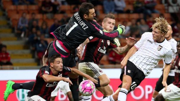 Milan, Palermo, SERIE A, Palermo, Calcio