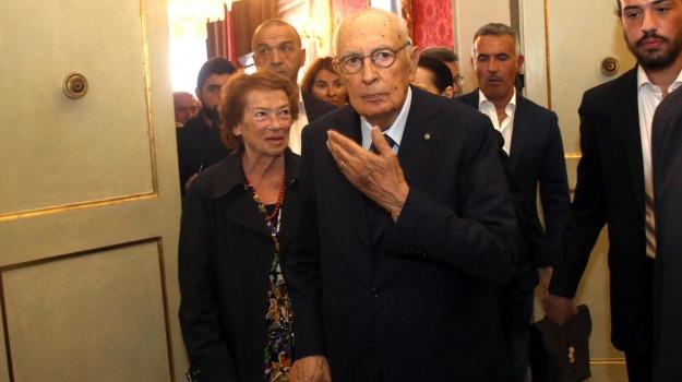 pd, presidente della Repubblica, Giorgio Napolitano, Sicilia, Politica
