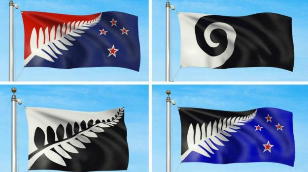 ballottaggio, bandiera, Nuova Zelanda, Sicilia, Mondo