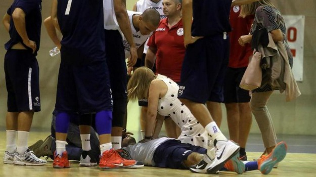 basket, infarto, ospedale, Alessandro Pagani, Sicilia, Sport