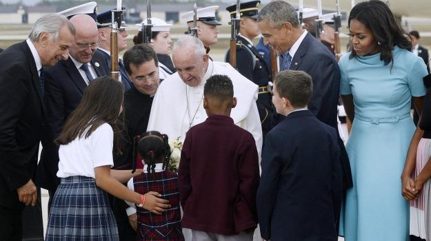 obama, papa, USA, Barack Obama, Papa Francesco, Sicilia, Cronaca, Mondo