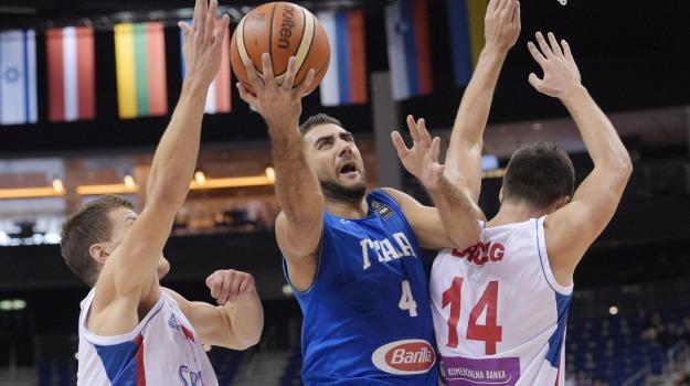 basket, europei, italia, Serbia, Sicilia, Sport