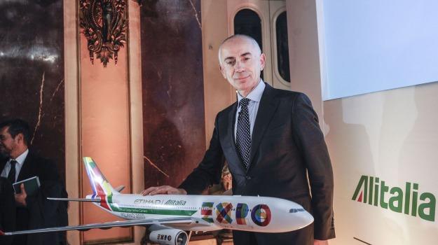 alitalia, amministratore delegato, Sicilia, Economia