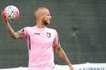 Palermo, trauma al ginocchio per Struna: rischia di saltare la partita contro il Verona