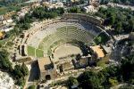 Taormina, il teatro visto dall'alto