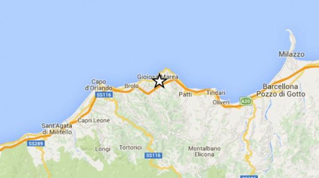 patti, terremoto, Messina, Cronaca