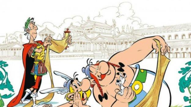 asterix, de bello gallico, fumetti, Sicilia, Cultura