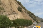 Frana sulla Messina-Catania, inchiesta contro ignoti