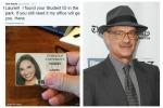 Tom Hanks trova il documento di una studentessa... e mobilita Twitter