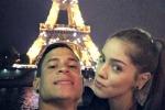 Vacanza romantica ai piedi della Torre Eiffel: Iturbe vola a Parigi con la bella Guadalupe - Video