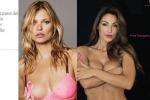 La Tatangelo nuda contro il cancro al seno, la cantante a muso duro sui social: chissà se anche Kate Moss fa scandalo - Foto