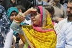 Malala Yousafzai, 18 anni. Attivista pakistana e vincitrice del premio Nobel per la pace