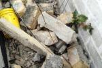 Violento temporale a Palermo, danni e fuoriuscita di eternit in via Valenza: le foto