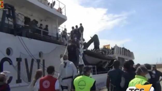 emergenza, migranti, pozzallo, Ragusa, Cronaca