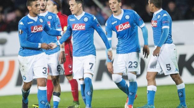 Calcio, europa league, Fiorentina, lazio, Napoli, Sicilia, Sport
