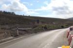 Frana lungo la Palermo-Agrigento, strada riaperta