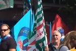Pensioni, protesta davanti la Prefettura di Palermo