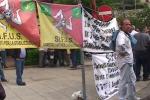 I forestali scendono in piazza a Palermo e la città piomba nel caos: il video