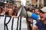 Studenti del Dolci in piazza: entro novembre la messa in sicurezza - Video