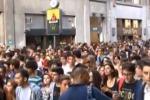 Studenti siciliani in piazza, traffico in tilt a Palermo