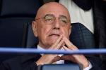 """Galliani: """"Vazquez al Milan l'anno prossimo? Vedremo..."""""""