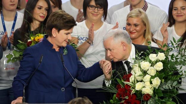anti ue, destra, elezioni, exit poll, governo, Polonia, Sicilia, Mondo