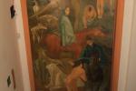 """Gam, restaurato il dipinto """"Prima cronaca del tempo"""" di Corrado Cagli"""