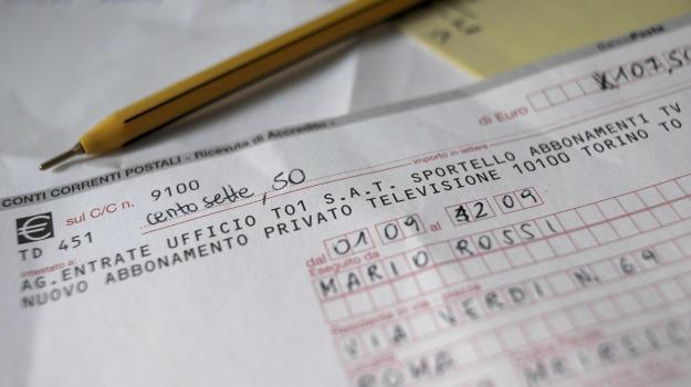 agenzia delle entrate, canone rai in bolletta, Sicilia, Economia