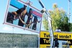 Cartelloni selvaggi: oltre cento rimozioni ad Agrigento