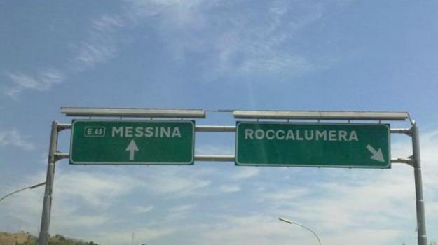 autostrada messina catania, Messina, Economia