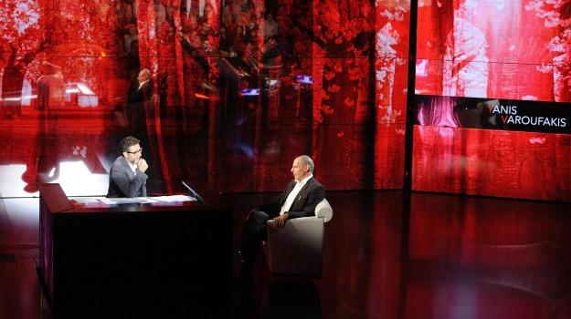 Fabio Fazio, Yanis Varoufakis, Sicilia, Politica