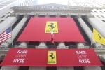 Il titolo Ferrari in Borsa: in Piazza Affari le bandiere del Cavallino