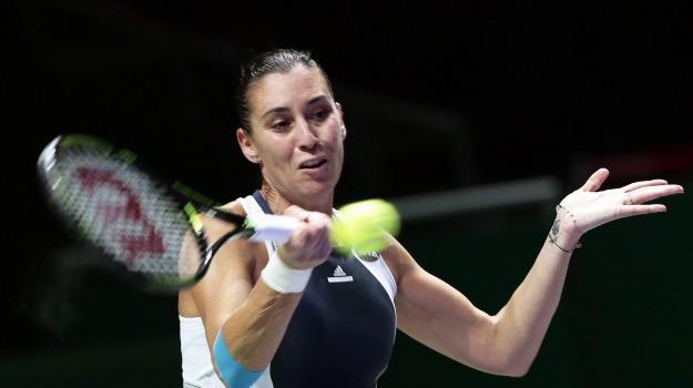 Tennis, wta finals, Flavia Pennetta, Sicilia, Sport
