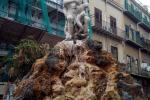 Piazza Rivoluzione a Palermo, la fontana è a secco ormai da cinque giorni