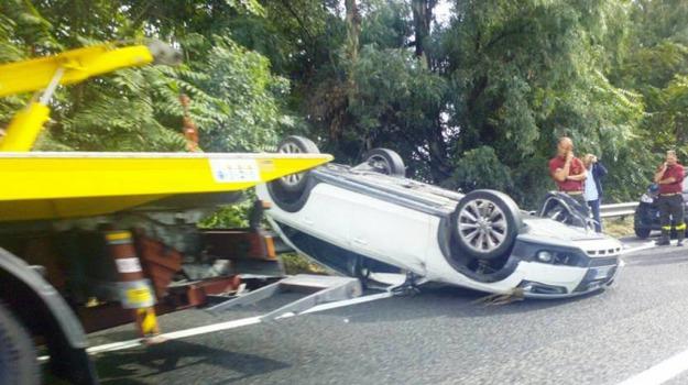 autostrada, Giarre, incidente, Catania, Cronaca