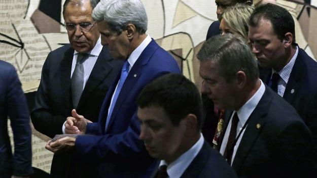 raid, Siria, tensioni, John kerry, Serghiei Lavrov, Sicilia, Mondo
