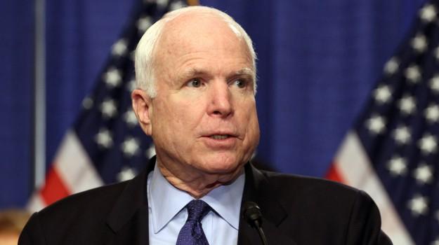 morto McCain, John McCain, Sicilia, Mondo