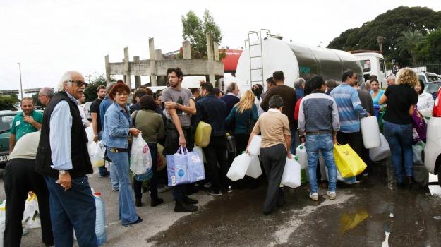 acqua, emergenza, Messina, Cronaca