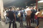Palermo-Agrigento riaperta al traffico dopo la frana di ieri, operai al lavoro per tutta la notte