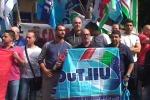 Palermo, sit-in di protesta delle guardie giurate Ksm - Video